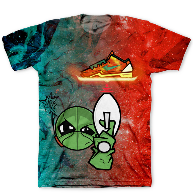 Area 72 Shirt | All Over Print Tee | Signature Kitchen Invasion T-Shirt for Kobe VIII