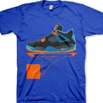 Signature GourmetKickz Deluxe Now Serving Jordan Cav 4 T-Shirt