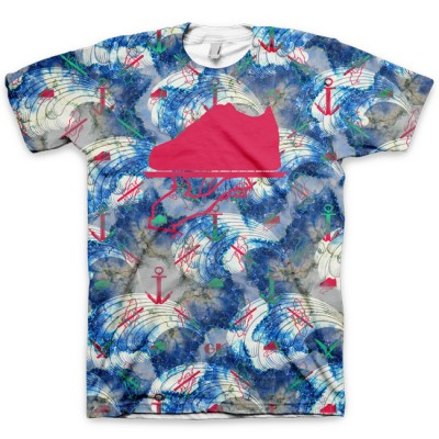 The Oceanic Drift All Over Print Logo T-Shirt by GourmetKickz