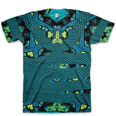 Constricted Kobe 9 Elite All Over Print T-Shirt by GourmetKickz   Perspective