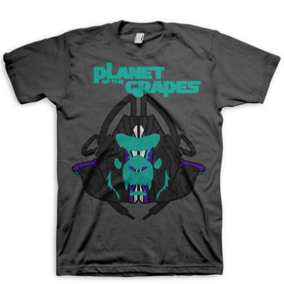 8cfb2d1d9d93 Signature MASk Jordan 5 Black Grape Full Color T-Shirt