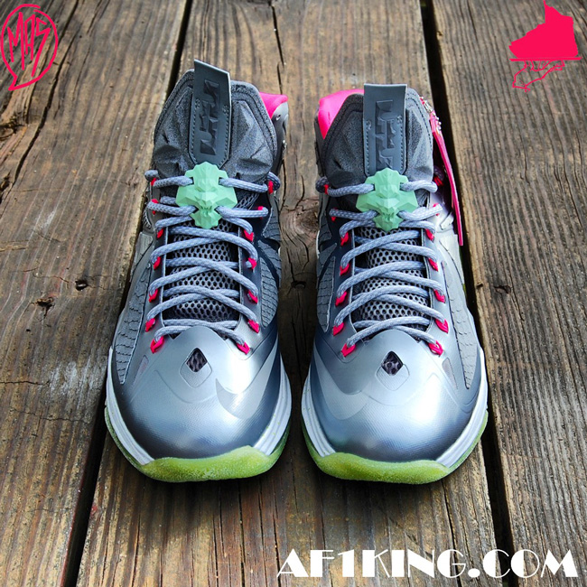"new style b7271 9554f Custom LeBron X (10) Platinum Air Yeezy II Inspired   ""MasToChef Homme  Project"""