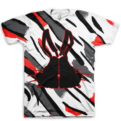 All Over Print Bugs Bunny Jordan 8 Silhouette T-Shirt