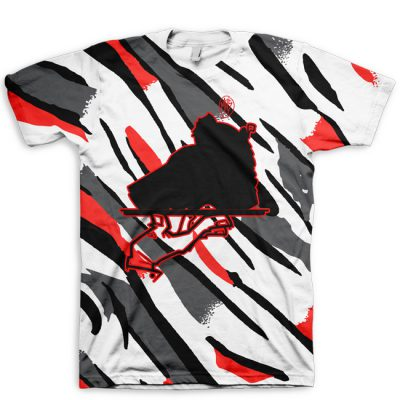 All Over Print Signature Now Serving Jordan 8 Bugs Bunny T-Shirt
