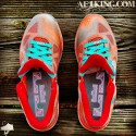 "Custom LeBron 9 Low ""Remember The Night"" by GourmetKickz 