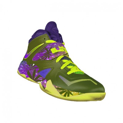 "Custom ""420"" Nike Zoom Soldier VII by GourmetKickz"