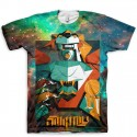 The All Over Print SoleTron All Over Print T-Shirt   Robots Rule Series by Mas x GourmetKickz