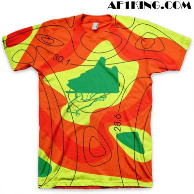 """Now Serving a Mas-sive Storm"" KD IV Weatherman All Over Print T-Shirt by GourmetKickz"