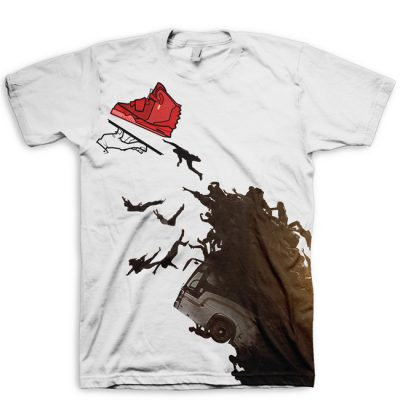 World War Yeezy Red October Yeezy II The Thirst All Over Print T-Shirt By GourmetKickz