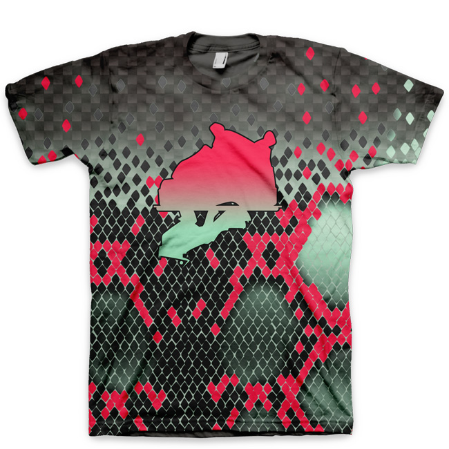 Yeezy Foamposite Pro |Easter 2014 | All Over Print T-Shirt by GourmetKickz