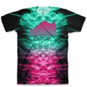 The Zombie in South Beach All Over Print Logo T-Shirt by GourmetKickz