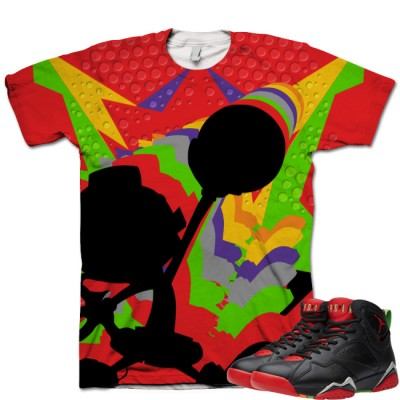 Jordan 7 Marvin The Martian T-Shirt | Infinite Sole