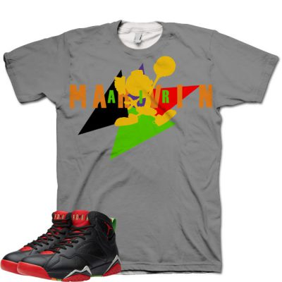 Jordan 7 Marvin The Martian Shirt V1 by GourmetKickz