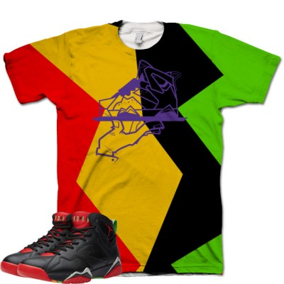 Jordan 7 Marvin The Martian Shirt V4 by GourmetKickz