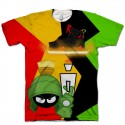 Jordan 7 Marvin The Martian Shirt V6 by GourmetKickz