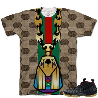Gucci Foamposite Shirt V8