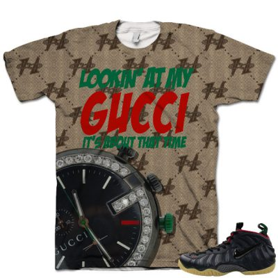 Gucci Foamposite Shirt V10