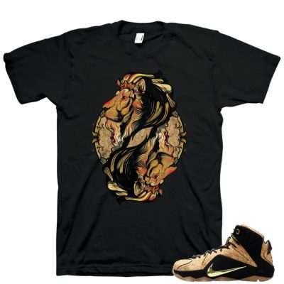 LeBron 12 EXT Cork Reflection of Success Shirt