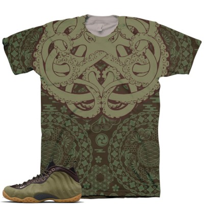 Olive Foamposite Shirt | Gotta Grip