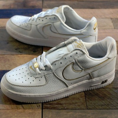Nike Air Force 1 Low JD Euro / White – Gold