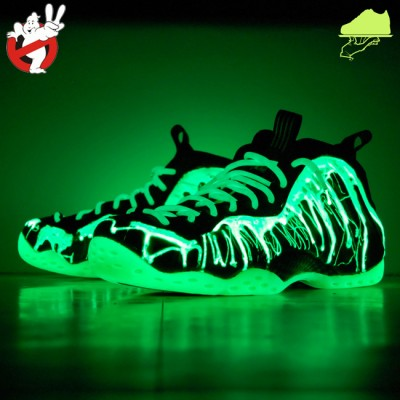 Custom Ghostbusters II Foamposite by GourmetKickz