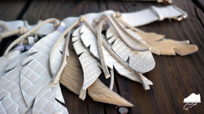 Leather Feathers by Chef Spar