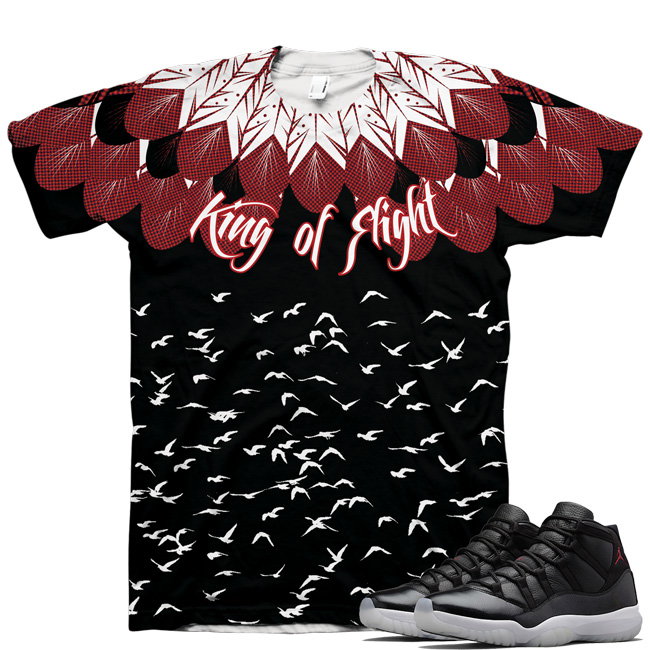 Air Jordan Retro 11 72-10 King Of Flight Shirt V1