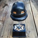 Premium Star Wars Helmet | Black / Old Gold 8″