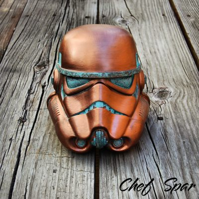 Premium Star Wars Helmet | Copper 8″