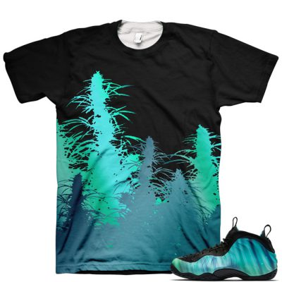 Northern Lights Foamposite Shirt V10