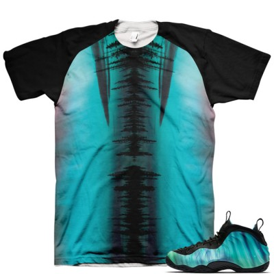 Northern Lights Foamposite Shirt V2