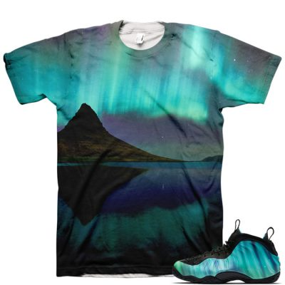 Northern Lights Foamposite Shirt V3