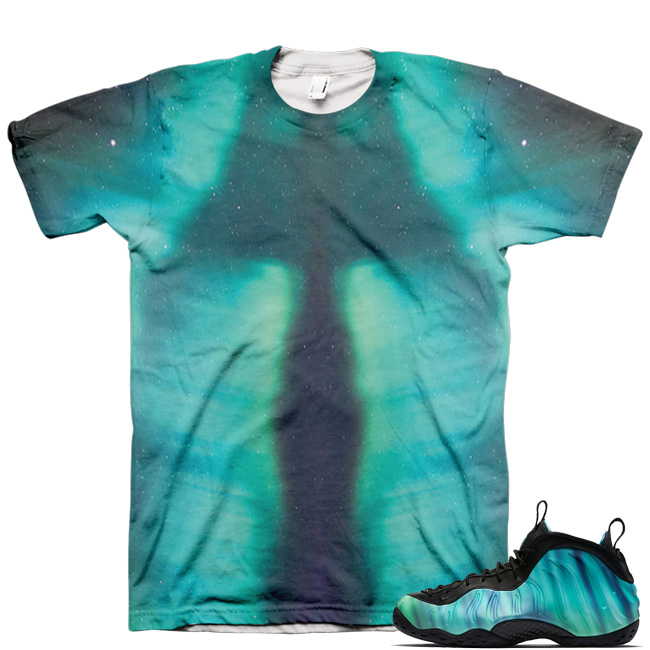 Northern Lights Foamposite Shirt V4