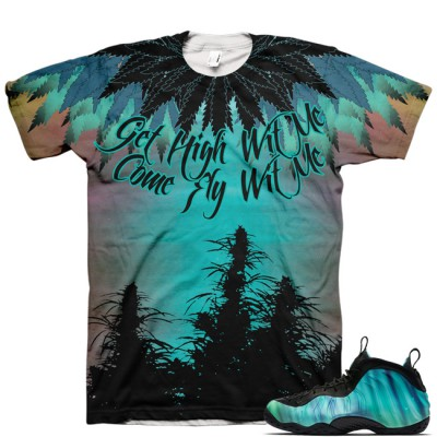 Northern Lights Foamposite Shirt V7