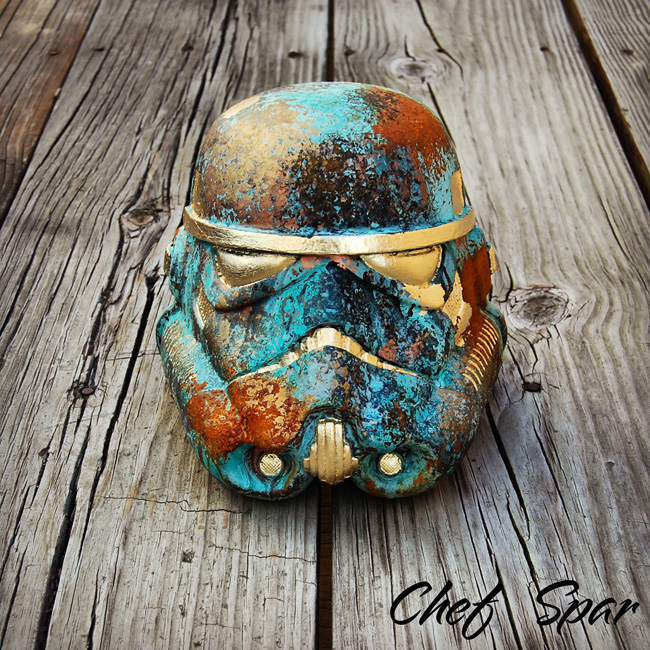 Premium Star Wars Helmet | Metal Mash Up 8″