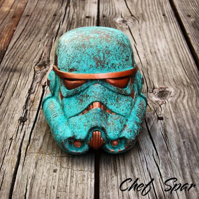 Premium Star Wars Helmet | Patina 8″