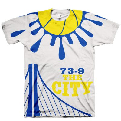 Golden State Warriors 73-9 Shirt V5