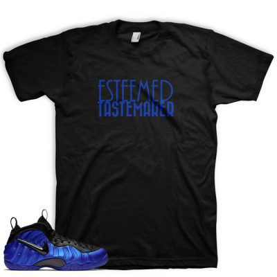 Royal Foamposite Shirt by GourmetKickz | Esteemed Tastemaker