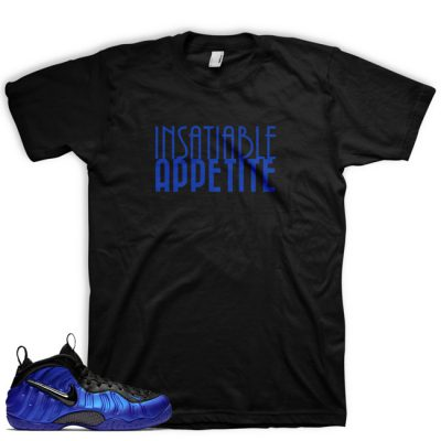 Royal Foamposite Shirt by GourmetKickz | Insatiable Appetite