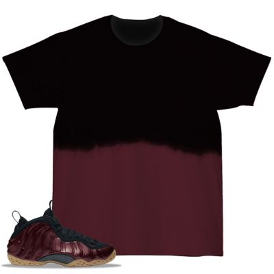 Maroon Foamposite Match T-Shirt | Dipped