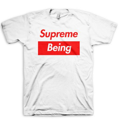 Supreme Being T-Shirt by GourmetKickz White