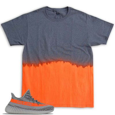 Yeezy Boost 350 v2 Beluga Solar Red Match T-Shirt | Dipped