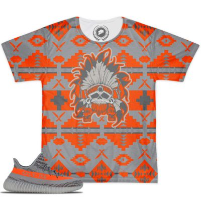 Yeezy Boost 350 V2 Beluga Solar Red Match Beacon T-Shirt