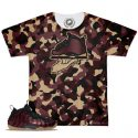 Night Maroon Foamposite Match T-Shirt | Camo