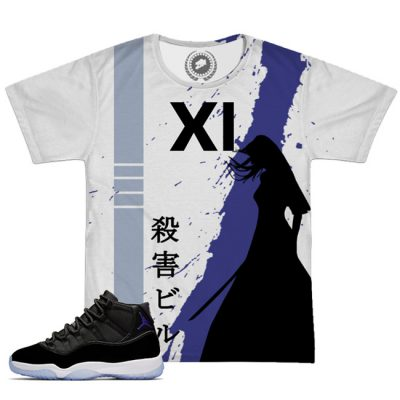 Space Jam 11 X Kill Bill All Over Print T-Shirt | White