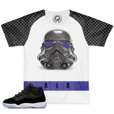 Space Jam 11 Match T-Shirt | MonStarWars White