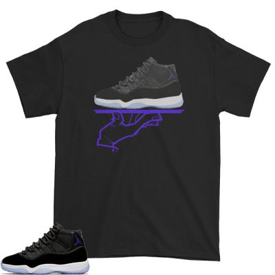 Space Jam 11 Match T-Shirt | Now Serving (FC) Black
