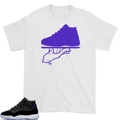 Space Jam 11 Match T-Shirt | Now Serving White