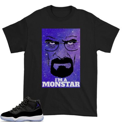 Space Jam 11 Match T-Shirt | I'm A Space Monstar Black