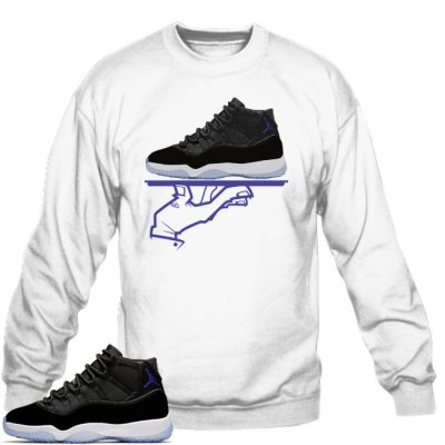 Space Jam 11 Match Sweatshirt | Now Serving FC White